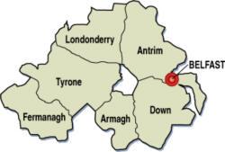 Cartina Politica Dell Irlanda.Soria Dell Irlanda Del Nord