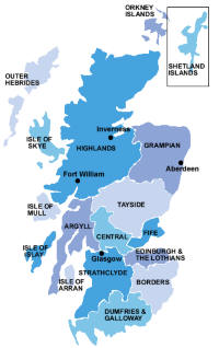 La Cartina Della Scozia.Scozia Informazioni Storia Luoghi